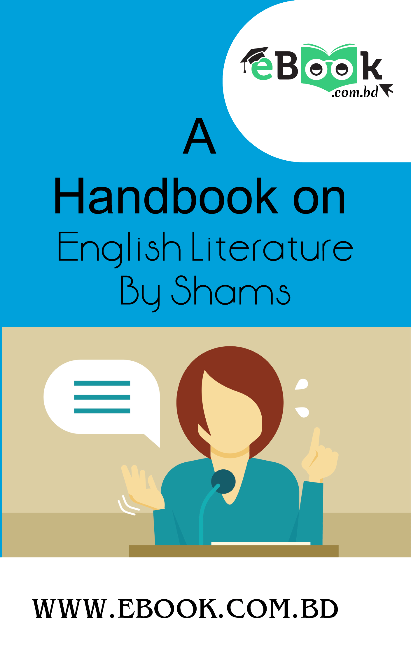 Thumbnail of A Handbook on English Literature By Shams
